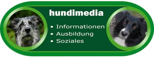 Logo: Hundimedia – Hunde helfen ®