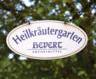 Foto Eingangsschild vom Heilpflanzengarten von Hever