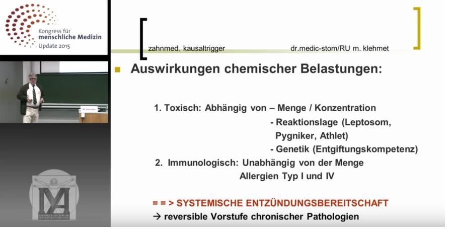 Vorschaubild: Dr. medic-stom/RU M. Klehmet - Kongress für menschliche Medizin - Update 2015