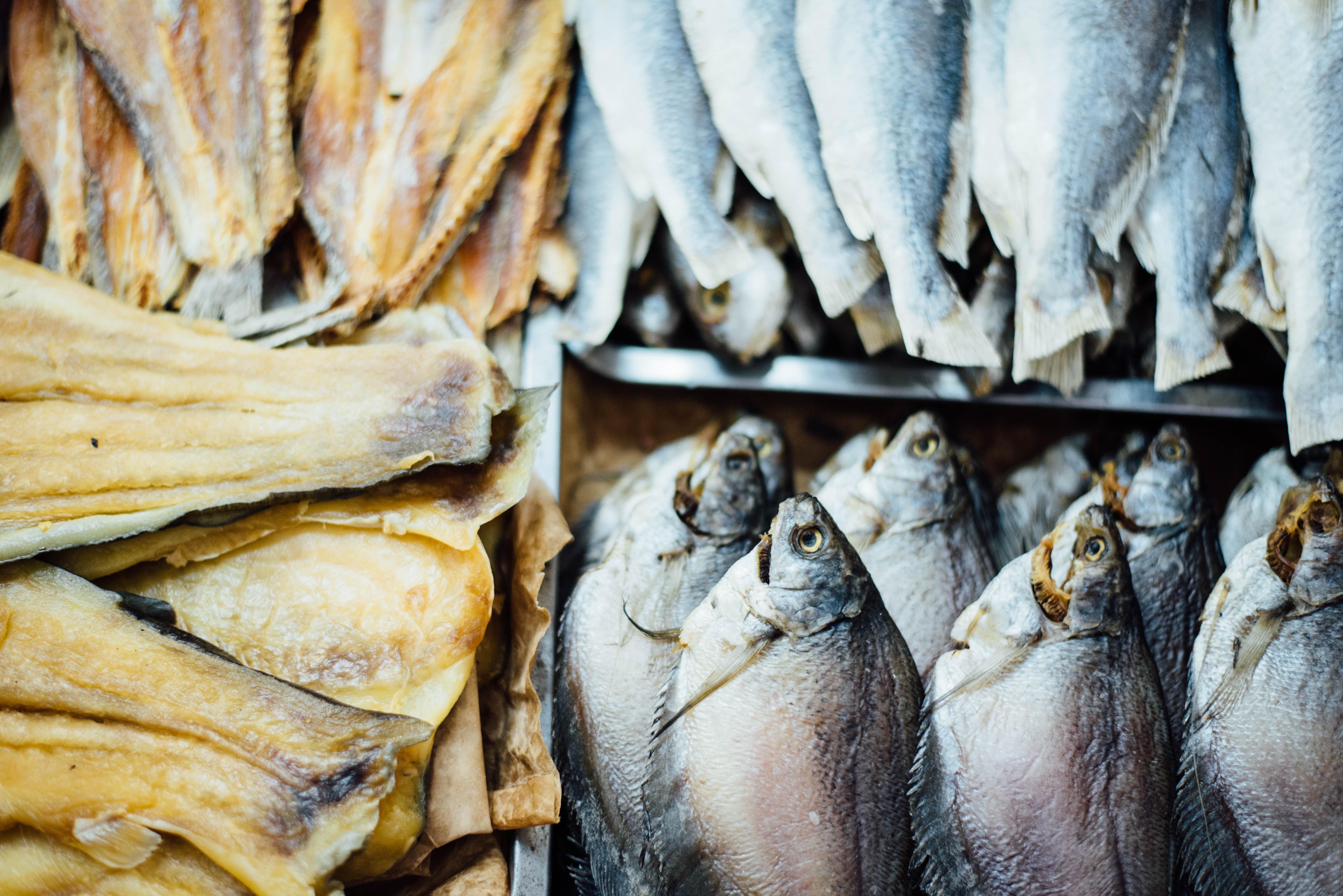 Fetter Seefisch ist reich an Omega-3-Fetssäuren