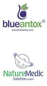 Logo: NatureMedic Solution GmbH - blueantox®