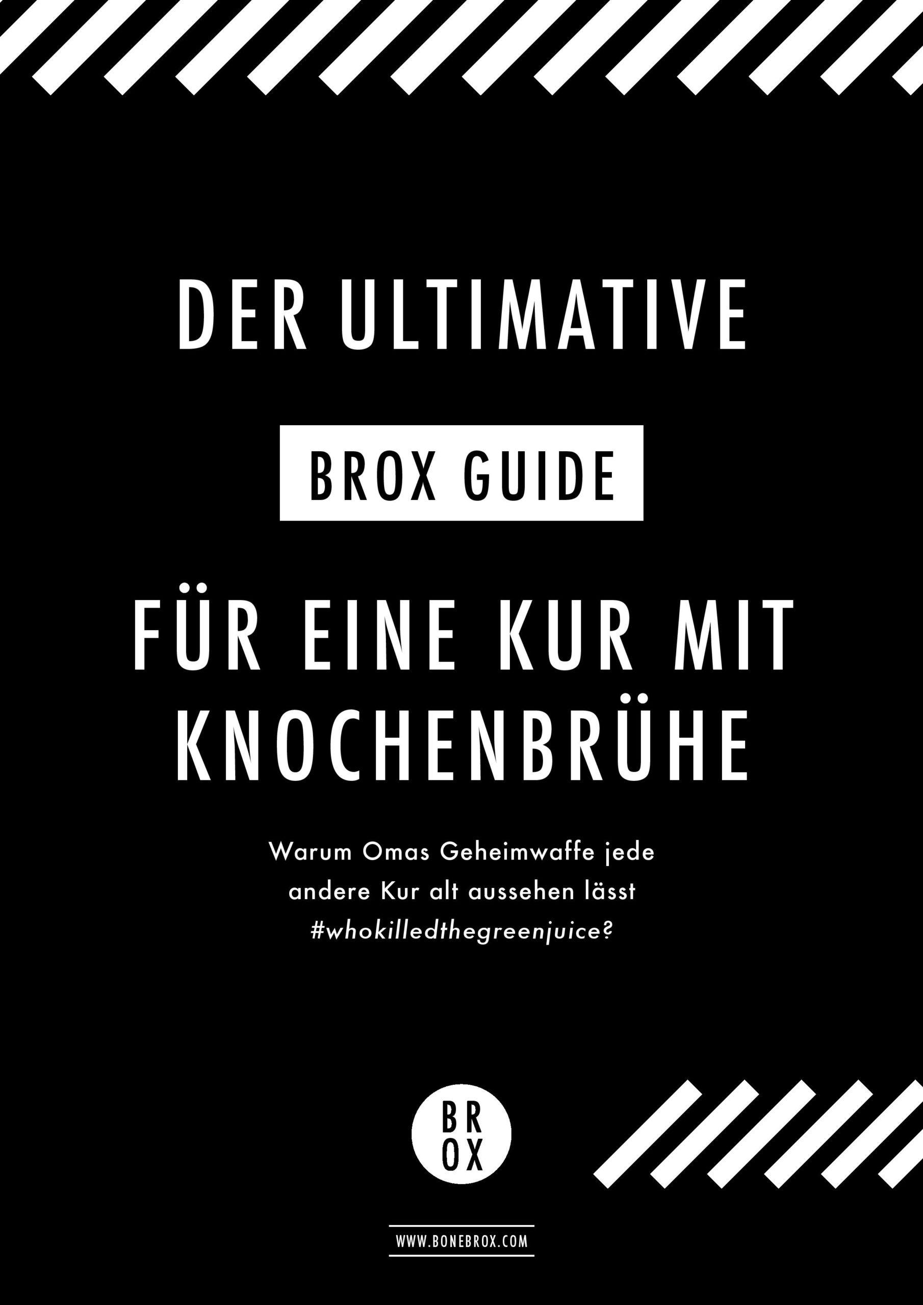 Cover: Brox-Kur-Konzept