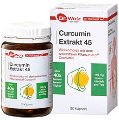 Vorschaubild: Curcumin Extrakt 45