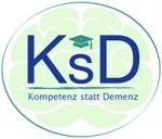 """Logo von """"Kompetenz statt Demenz"""""""