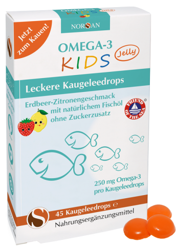 Vorschaubild: Norsan Omega-3 KIDS Jelly