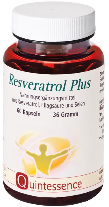 Vorschaubild: Resveratrol Plus, 60 Kapseln