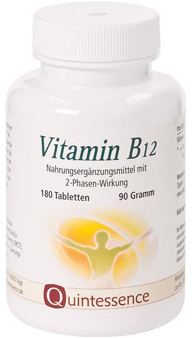Vorschaubild: Vitamin B12, 180 Tabletten