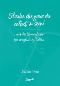 Buchcover: Erlaube dir ganz du selbst zu sein von Dr. A. Busse