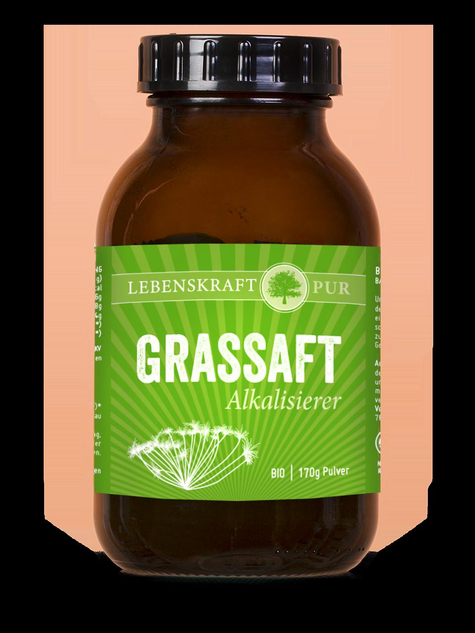 Vorschaubild: Grassaft Alkalisierer Bio