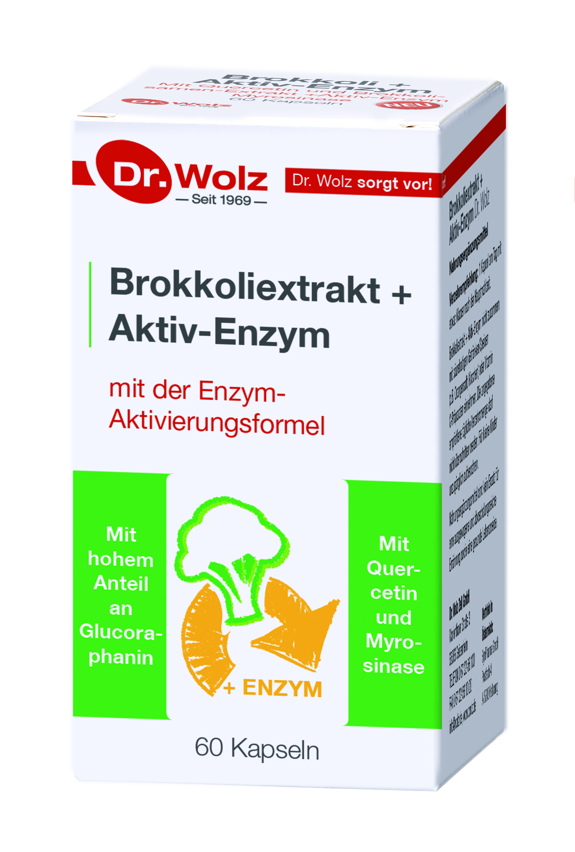 Vorschaubild: Brokkoli-Extrakt + Aktiv-Enzym