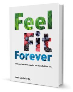 englisches Buchcover FEEL FIT FOREVER von I. Costa Leite