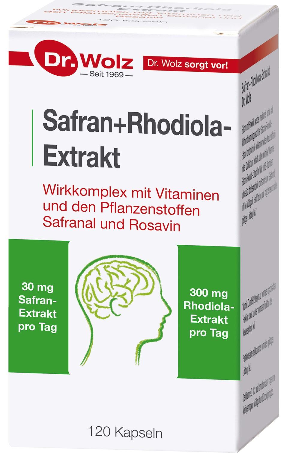 Vorschaubild: Safran+Rhodiola-Extrakt