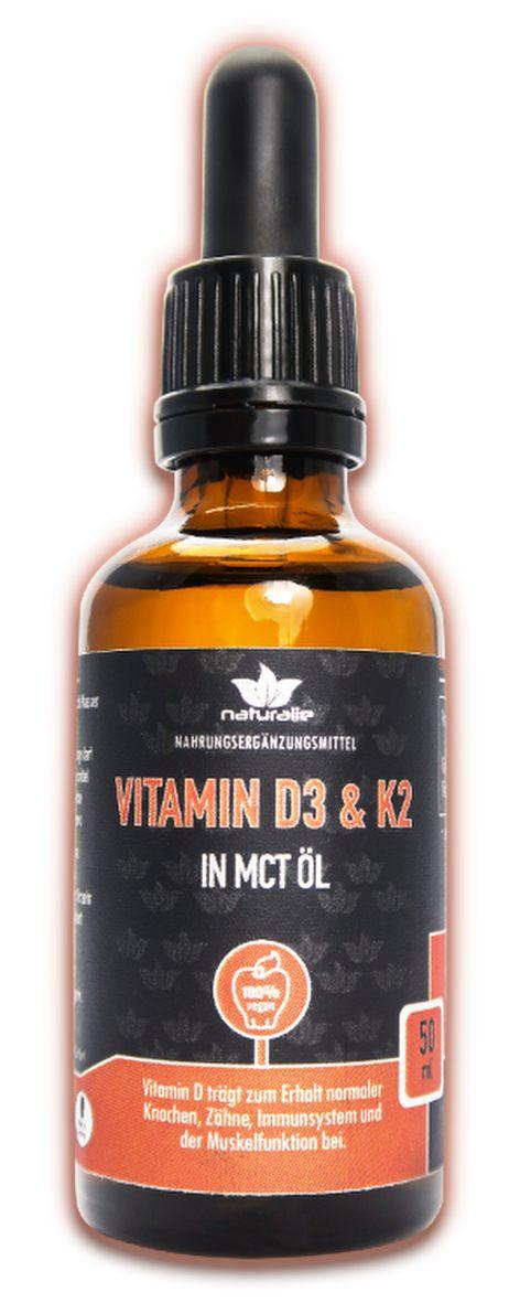 Vorschaubild: Vitamin D + K2-Tropfen in MTC-Öl