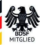 Logo: Mitglied des BDSF