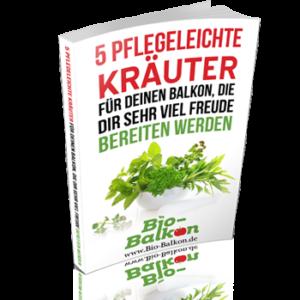 E-Book-Cover 5 pflegeleichte Kräuter für deinen Balkon