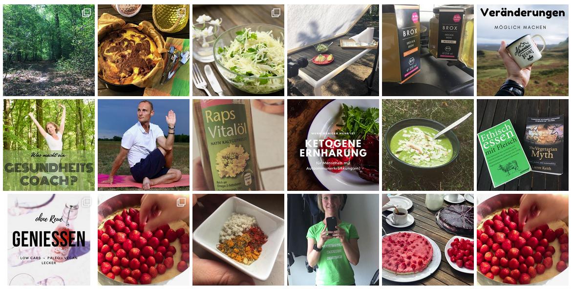 """image: Blick auf """"Genuss & Glück"""" bei Instagram"""