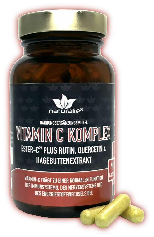 Vorschaubild: Vitamin C Komplex – mit Ester-C plus Cofaktoren