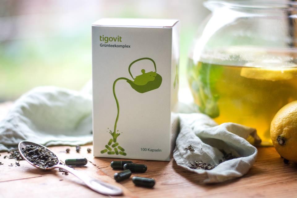 Produktfoto: tigovit-Grünteekomplex geniessen
