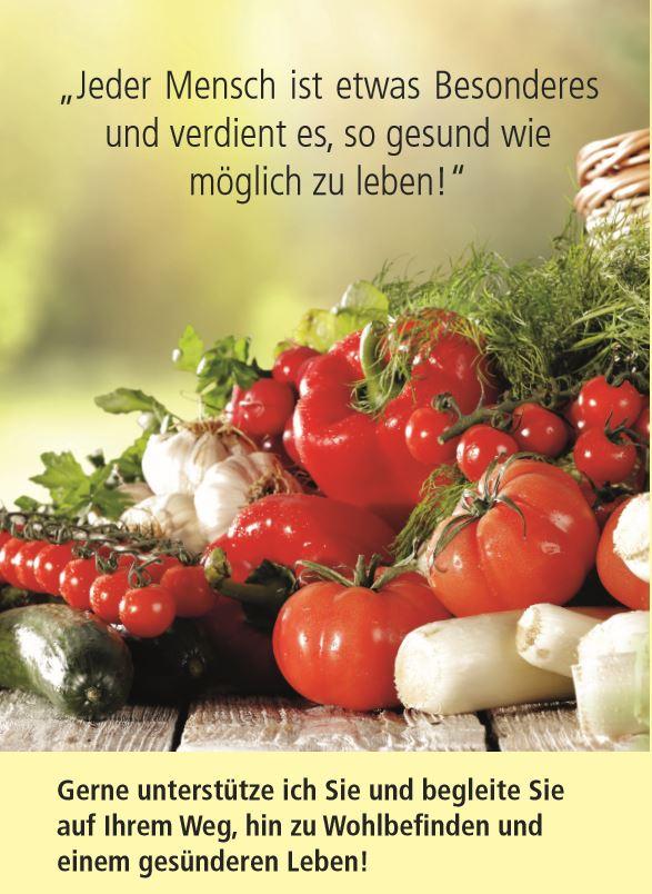 Gemüsefoto zur Gesundheitsberatung von Nicola Probst