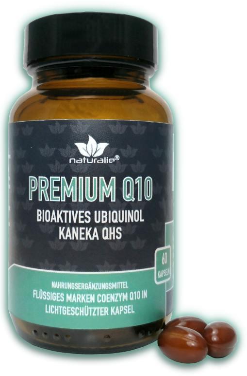Vorschaubild: Coenzym Q10 100mg – bioverfügbares KANEKA-Ubiquinol/Ubichinol
