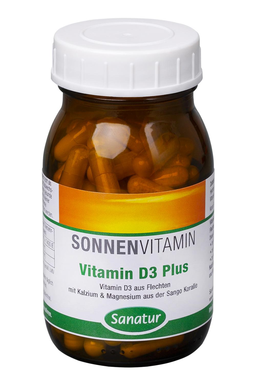 Vorschaubild: Sanatur Vitamin D3 Plus