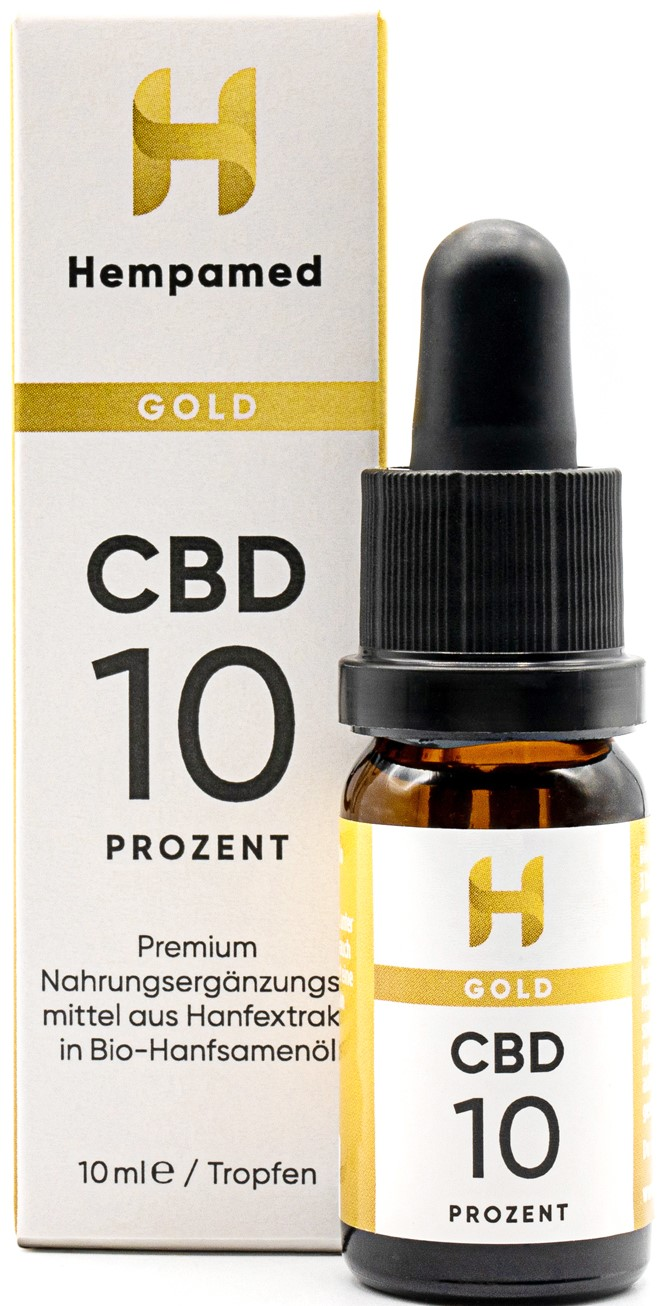 Vorschaubild: Hempamed Gold CBD-Öl 10 %