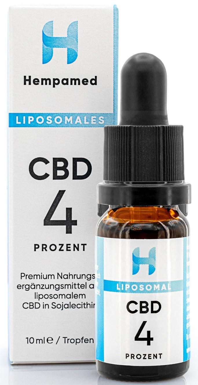 Vorschaubild: Hempamed Liposomales CBD-Öl 4 % | 10 ml