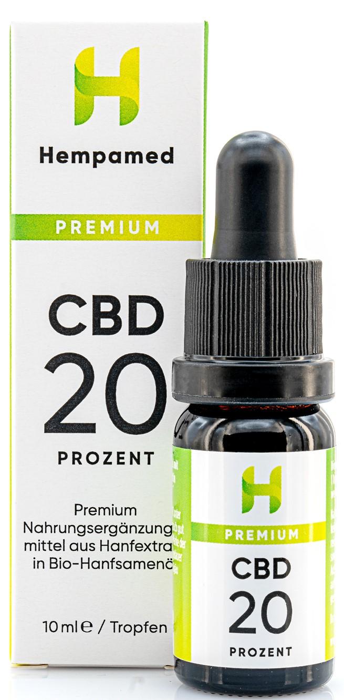 Vorschaubild: Premium CBD-Öl 20 % | 10 ml
