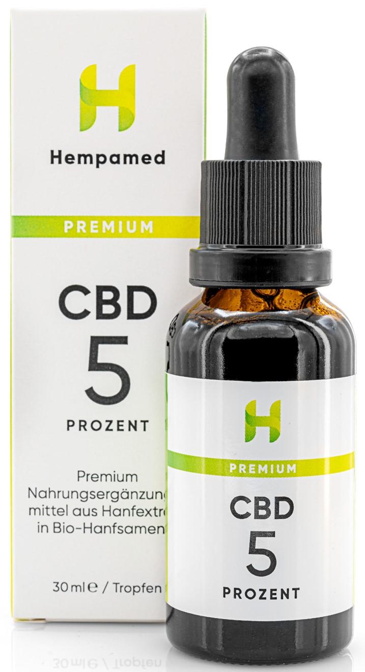 Vorschaubild: Premium CBD-Öl 5 % | 30 ml