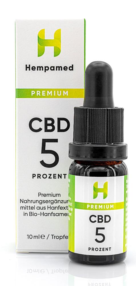 Vorschaubild: Premium CBD-Öl 5 % | 10 ml