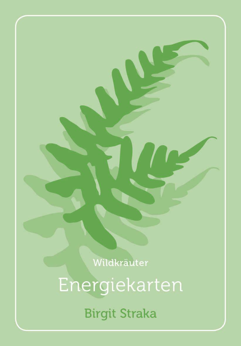 Foto einer Wildkräuter-Energiekarte von Birgit Straka