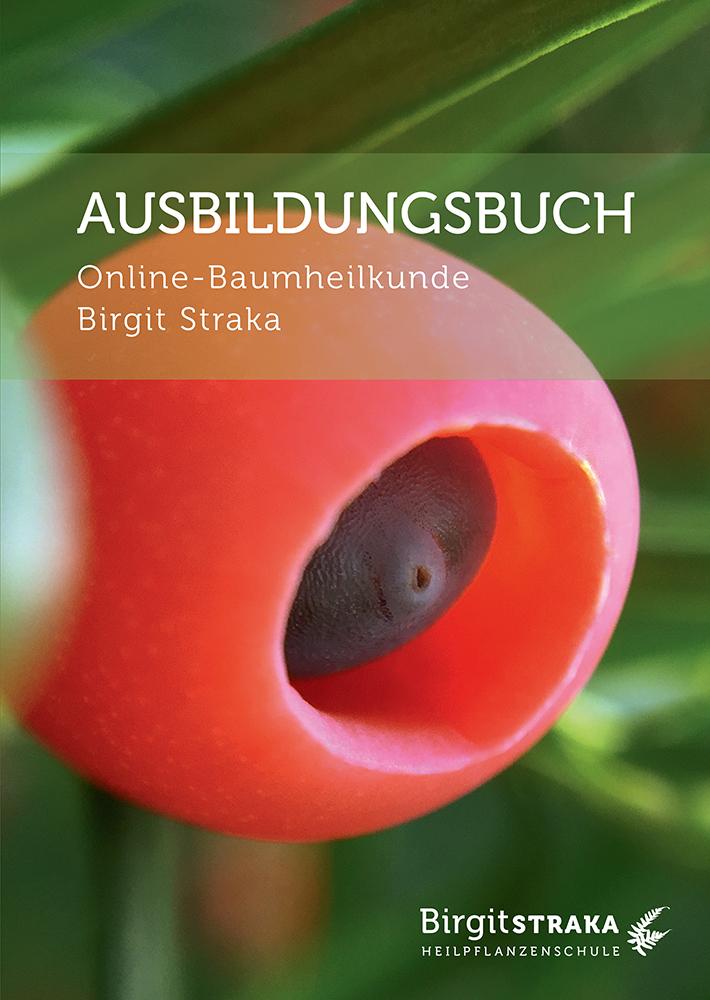 Cover vom Online-Baumheilkunde Ausbildungsbuch von Birgit Straka