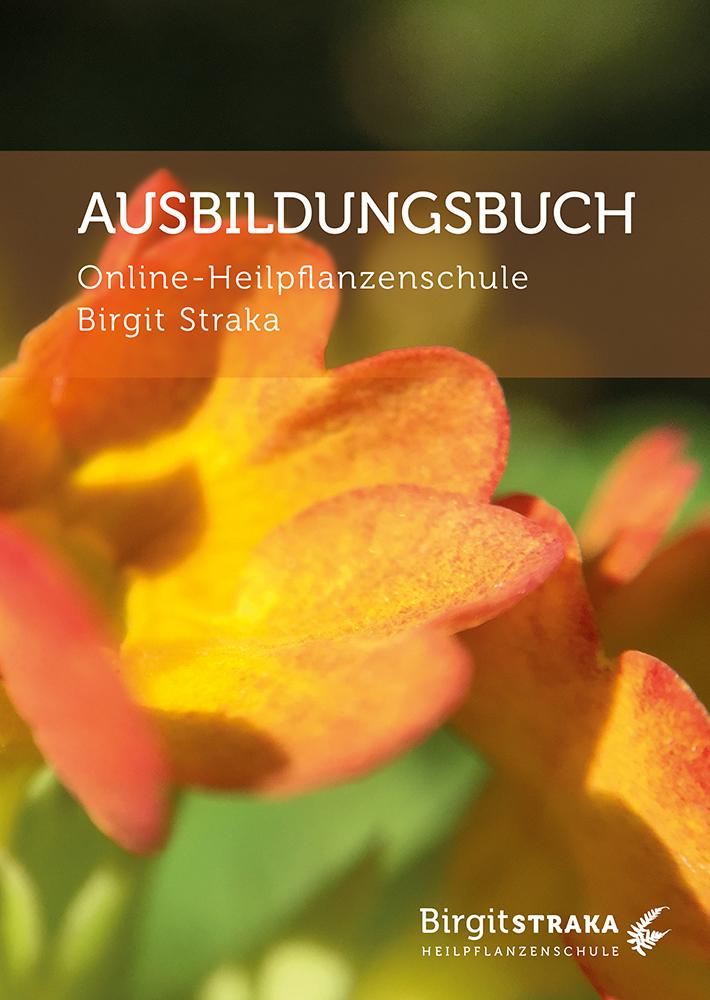Cover vom Online-Heilpflanzenschule Ausbildungsbuch von Birgit Straka