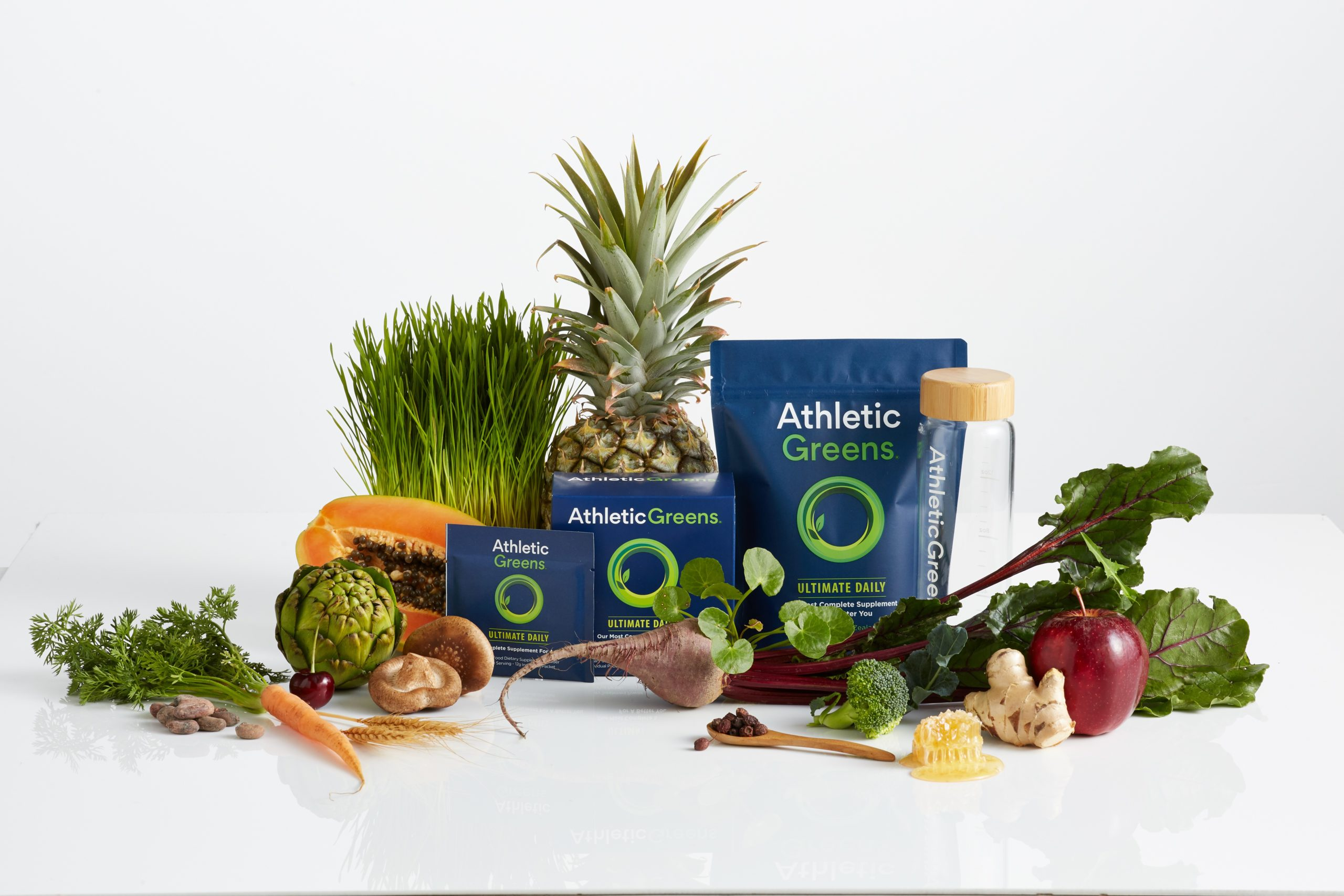 Vorschaubild: Athletic Greens - Dein tägliches All-in-One-Supplement