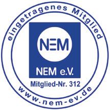 Siegel des NEM e.V.