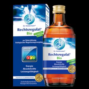 Produktfoto: Rechtsregulat Bio von Dr. Niedermaier