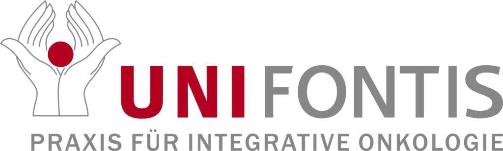 Unifontis-Logo mit Claim Praxis für integrative Onkologie