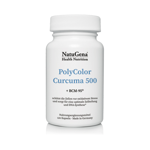 Vorschaubild: PolyColor Curcuma 500 + BCM-95® & Astaxanthin