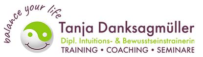 Logo von Tanja Danksagmüller: balance your life