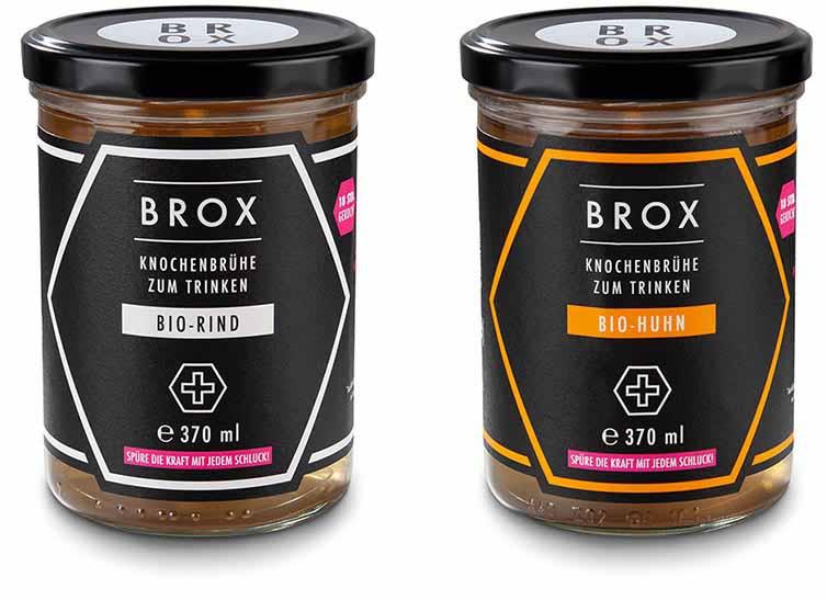 Produktabbildung zweier BROX-Brühen