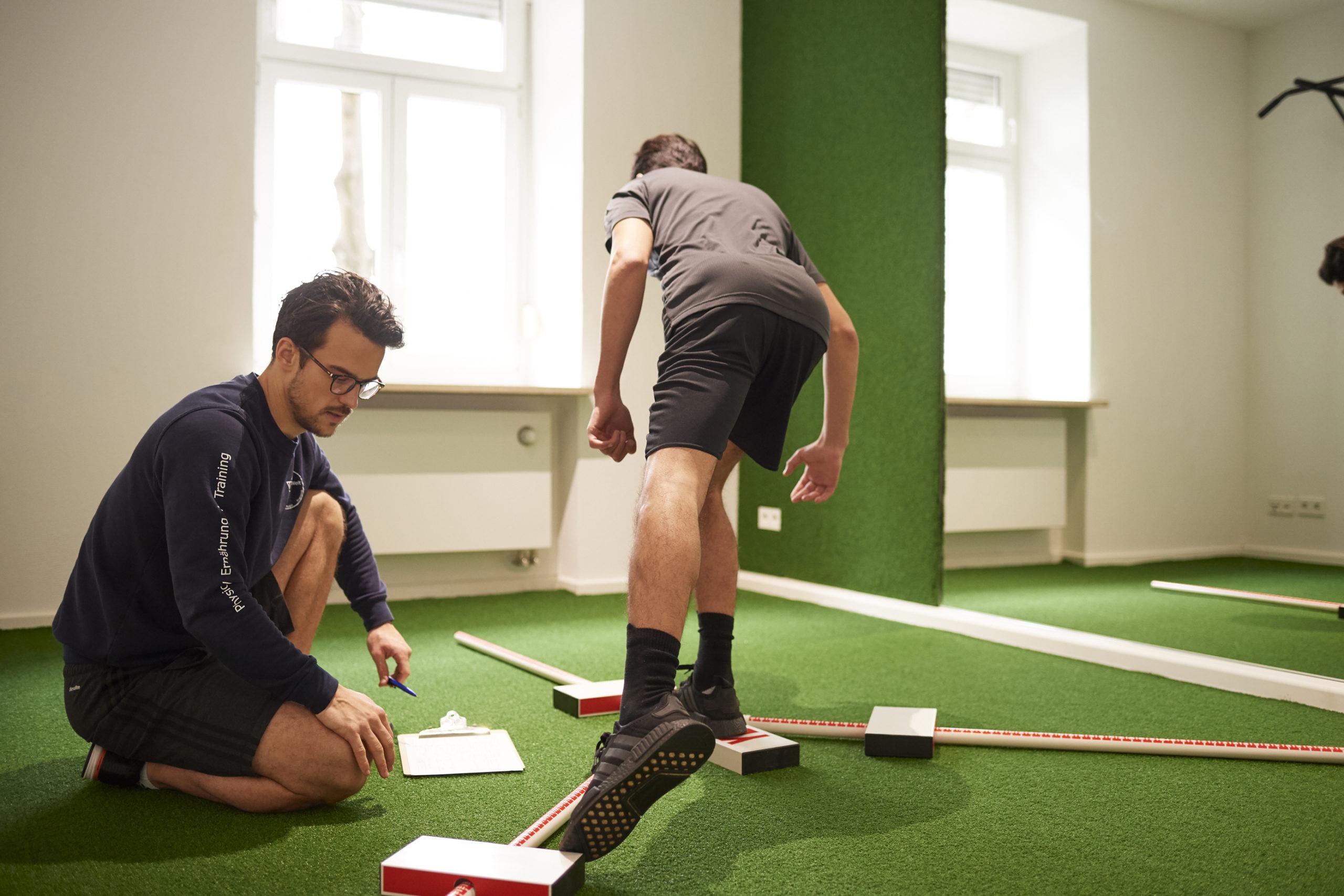 Foto: Training mit Tobias Homburg; Inhaber der THerapie.Welt