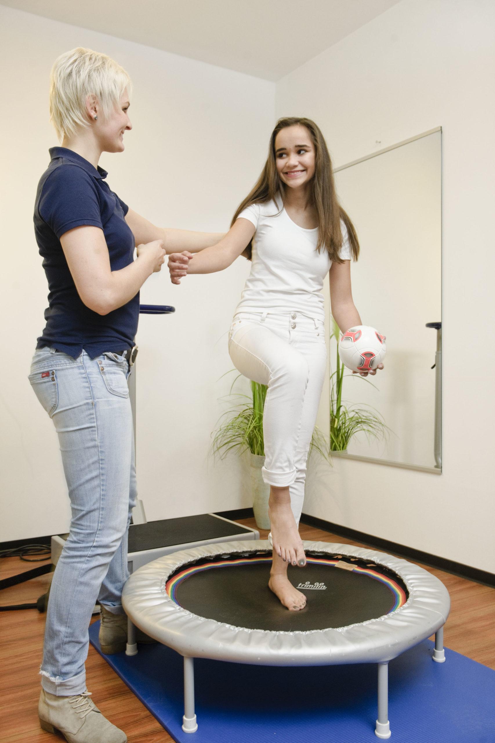 Foto einer Therapiebegleitung bei Dr. med Ulrich Frohberger