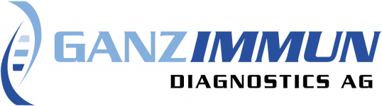 Logo: GANZIMMUN Diagnostics AG