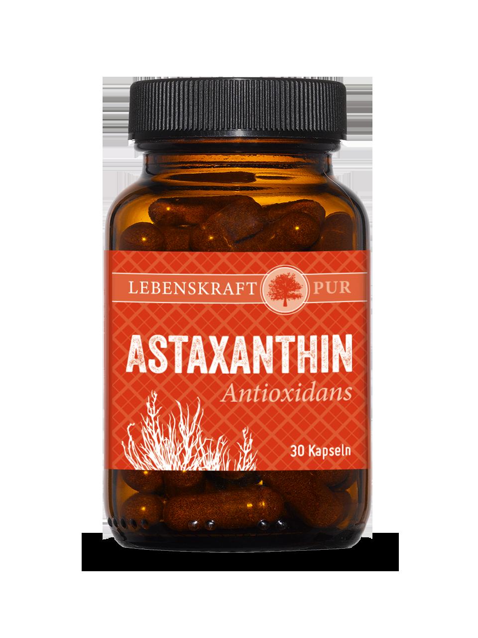Vorschaubild: Astaxanthin Antioxidans