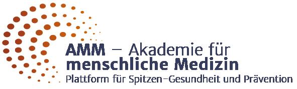 Logo der AMM – Akademie für menschliche Medizin | Plattform für Spitzen-Gesundheit und Prävention