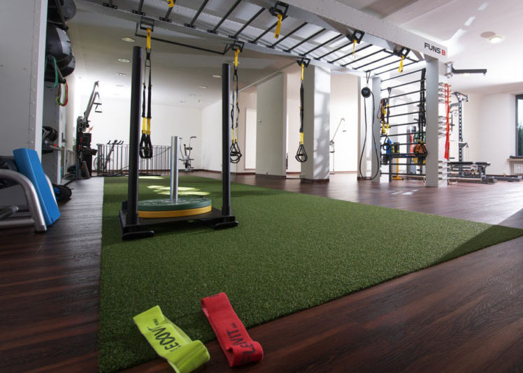 Foto: Sport-Lounge der AMM-Netzwerkpartnerin Britta Welcker