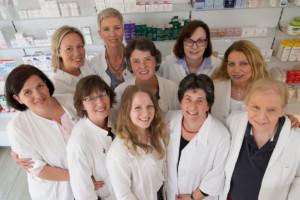 Foto des Teams der Europa-Apotheke als AMM-Netzwerkpartnerin