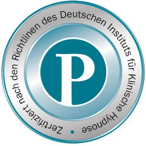 Zertifikationslabel vom Deutschen Institut für Klinische Hypnose