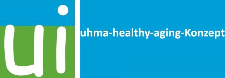 Logo Aging von AMM Netzwerkpartner Uhma International