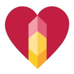 Logo-Herz der AMM-Netzwerkpartnerin Katja Hartlieb